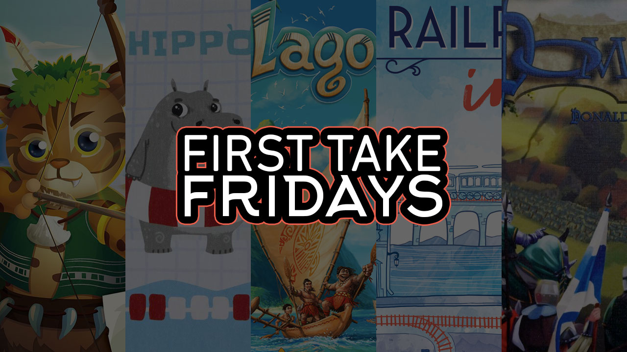 First Take Fridays - Paleolithic Hippos and the Blue Railroad Dominion header