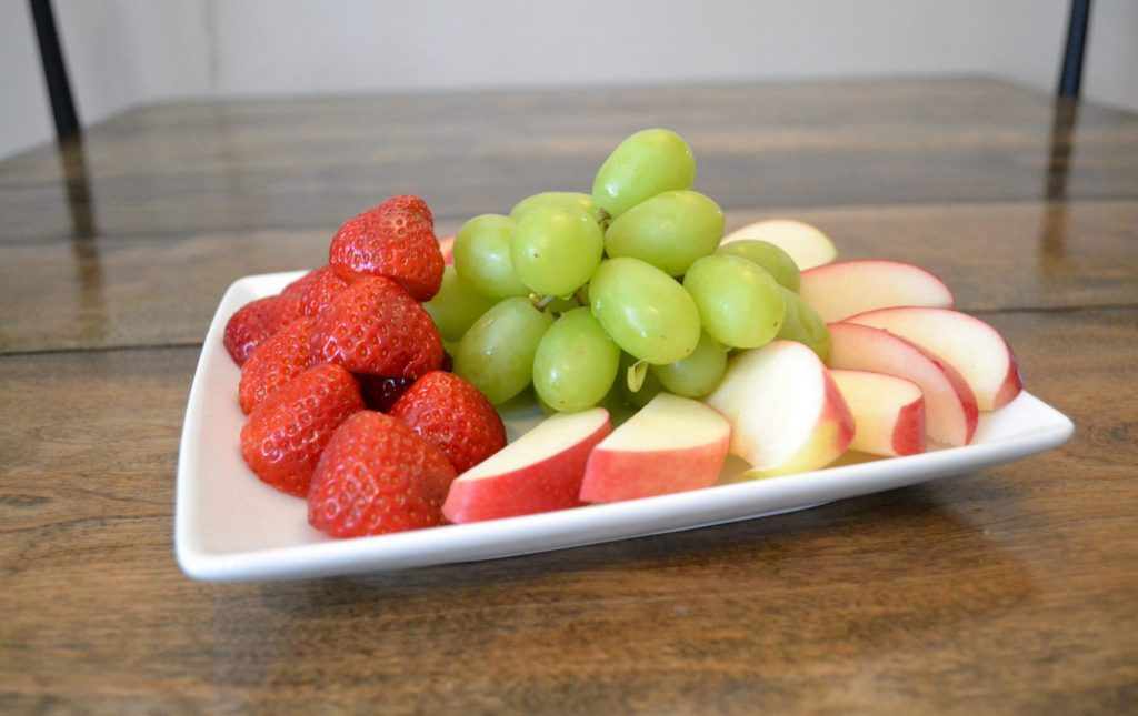 The perfect fruit platter