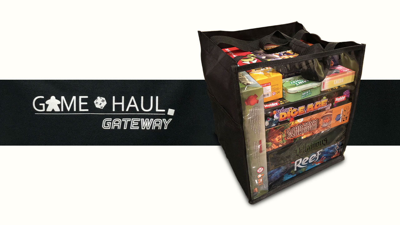 Game Haul: Gateway tote header