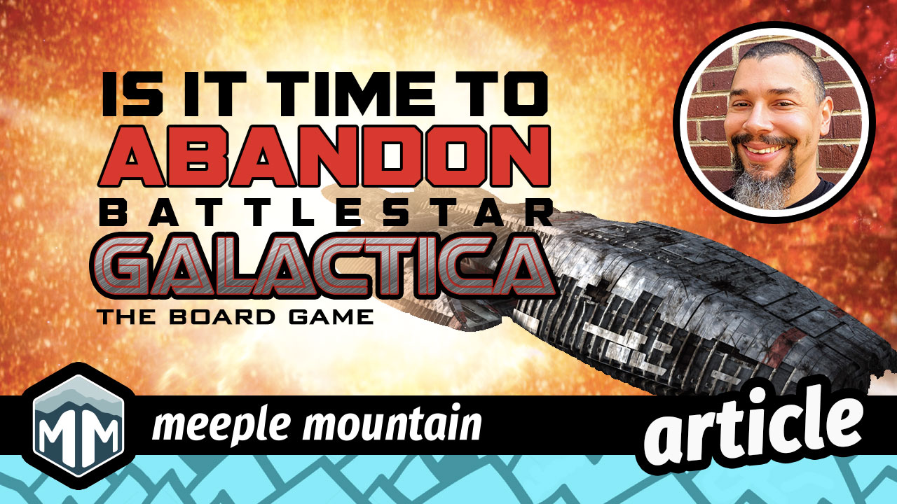 Is It Time to Abandon Battlestar Galactica (The Board Game)? | Meeple Mountain image