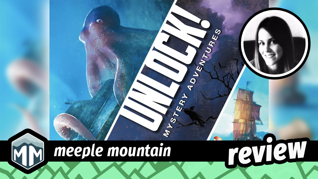 Unlock! Mystery Adventures Review - Solving Puzzles One Deck at a Time | Meeple Mountain image