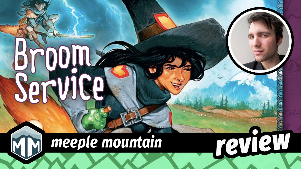 Broom Service Review - A Pfistful of Potions | Meeple Mountain image