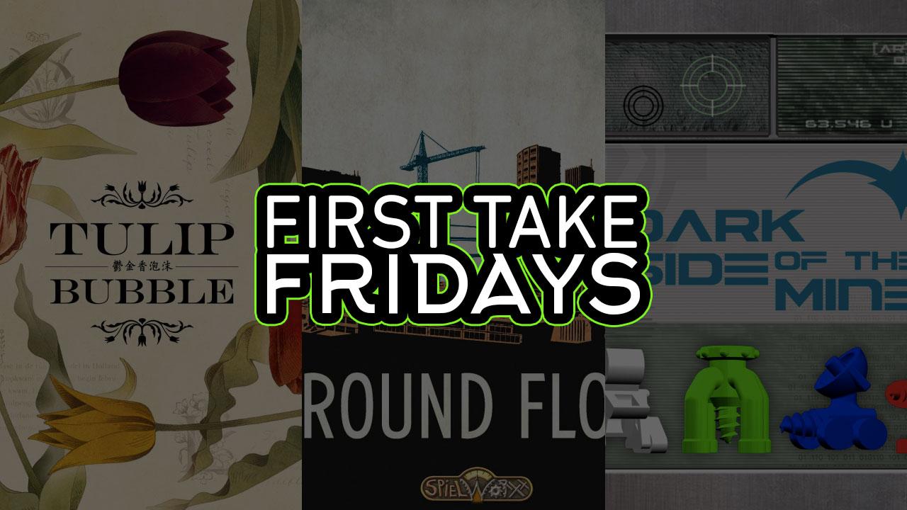 First Take Fridays - Dark Side of the Ground Tulip header