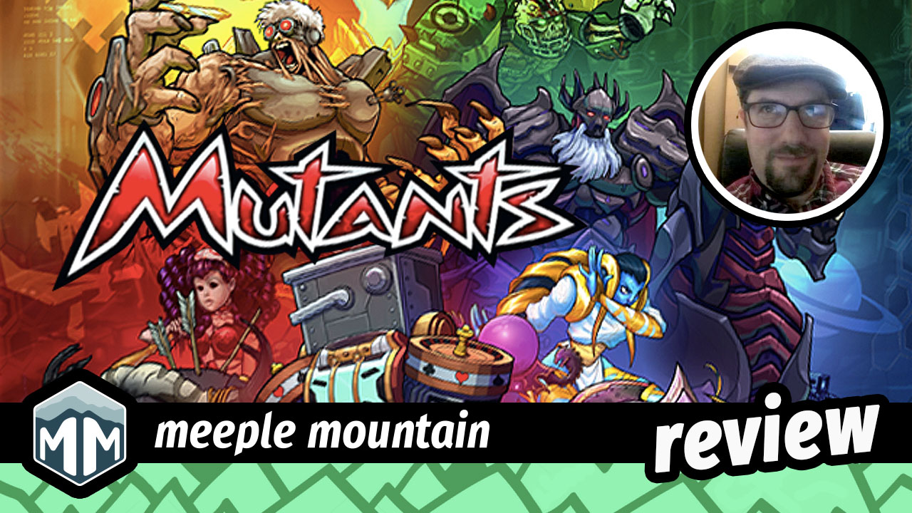 Mutants Review - Splice Your Way to Victory   Meeple Mountain