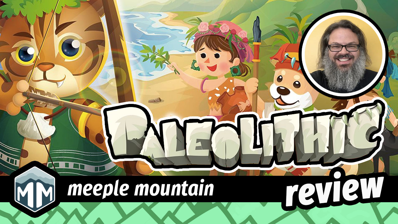 Author Argues That Even In Paleolithic >> Paleolithic Review Family Fun In Prehistoric Times Meeple Mountain