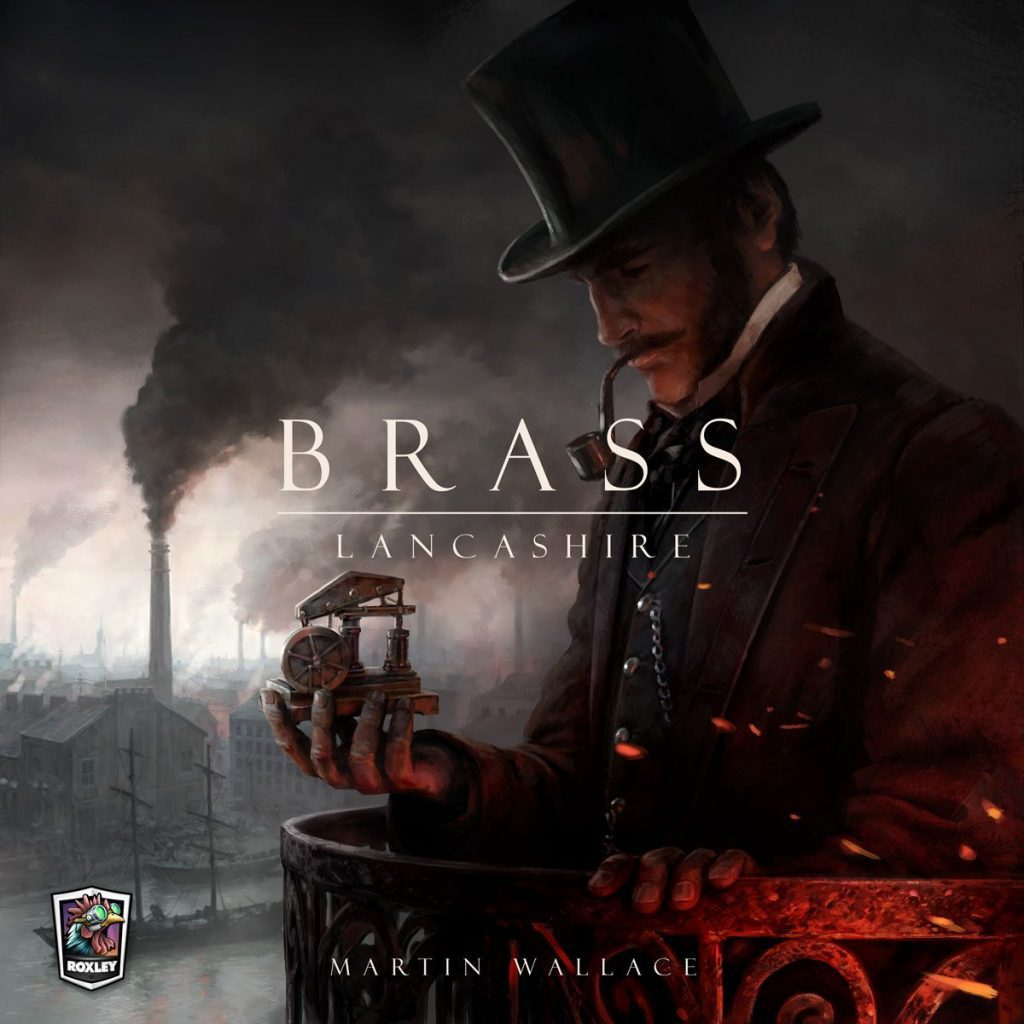 Brass: Lancashire cover art