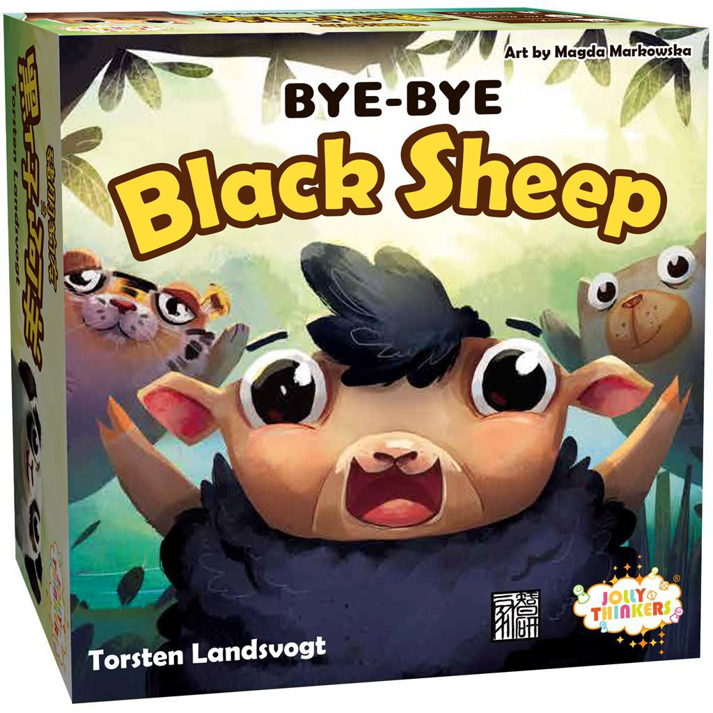 Bye Bye Black Sheep Box Art