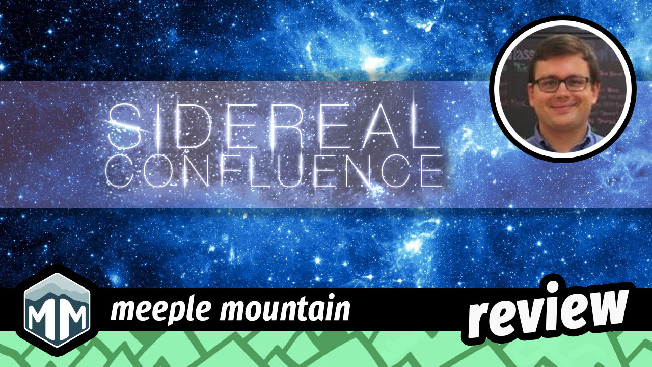 Sidereal Confluence Review - The Gameplay is Easier Than the Title | Meeple Mountain image