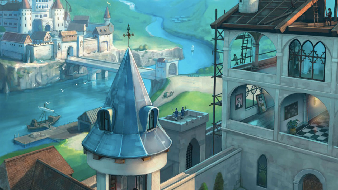 Between Two Castles of Mad King Ludwig review header