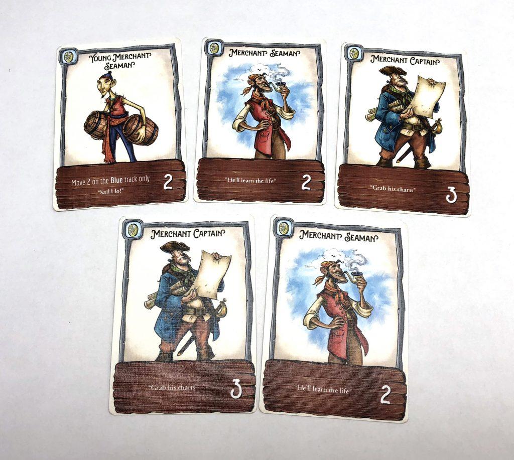 Merchant deck card examples