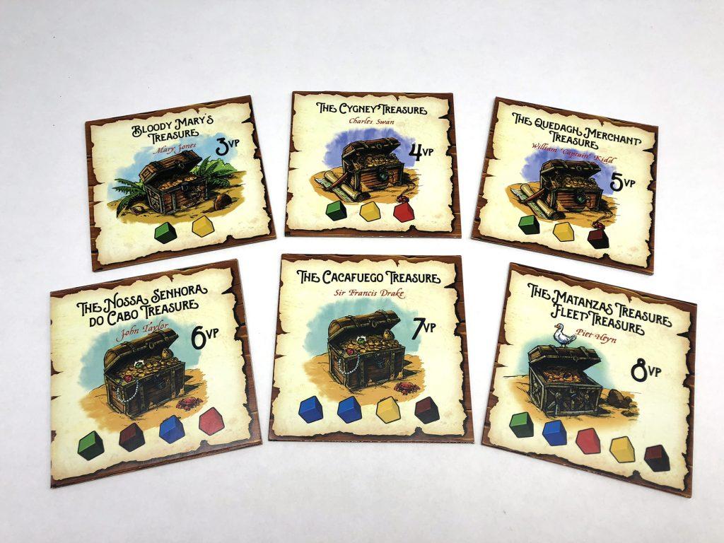 Treasure tile examples