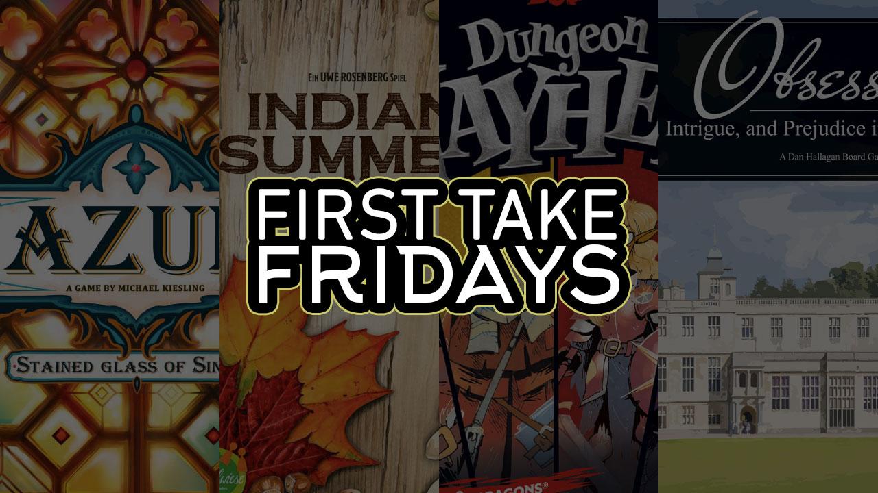 First Take Fridays - Sintra, Summer, Mayhem, Obsession header