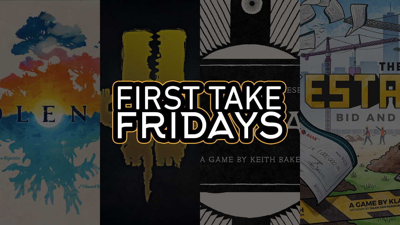 First Take Fridays - Solenia: The 7th Illimat Estate header