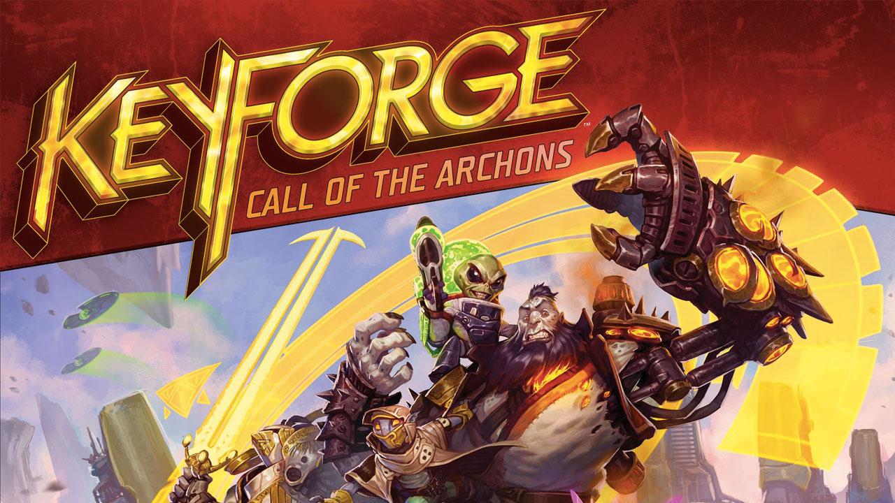 KeyForge: Call of the Archons review header