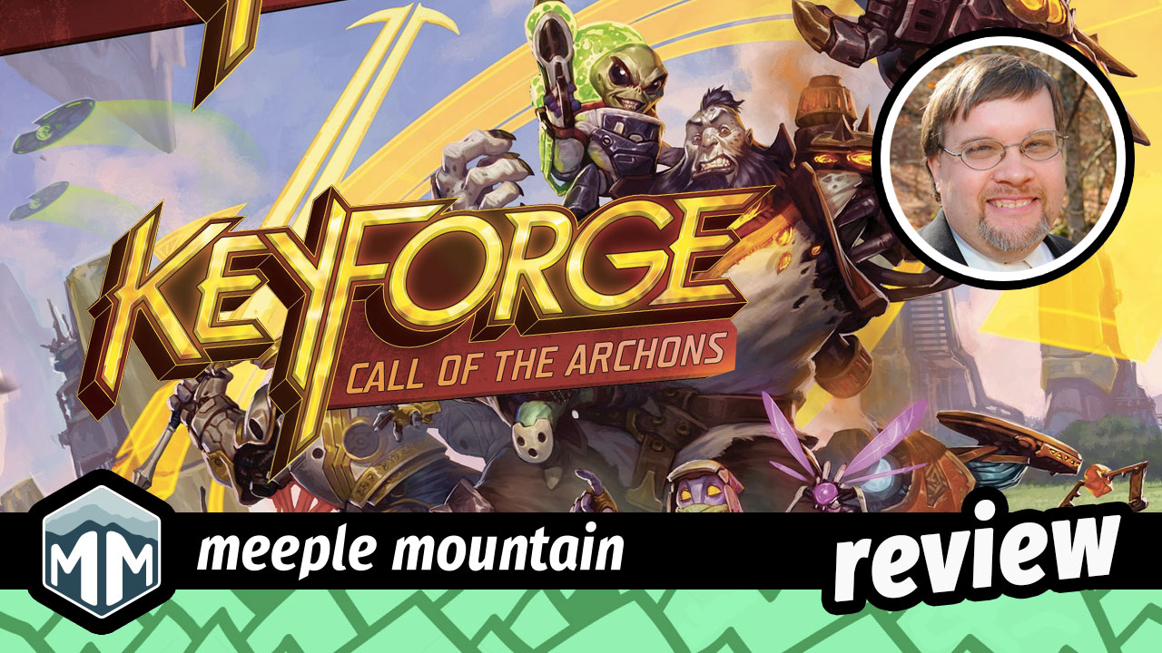 KeyForge: Call of the Archons Review - Moving Foward By Going Backward | Meeple Mountain image