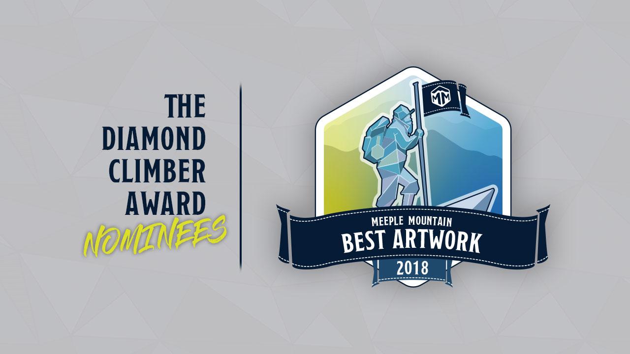 2018 Best Artwork nominees sharing header