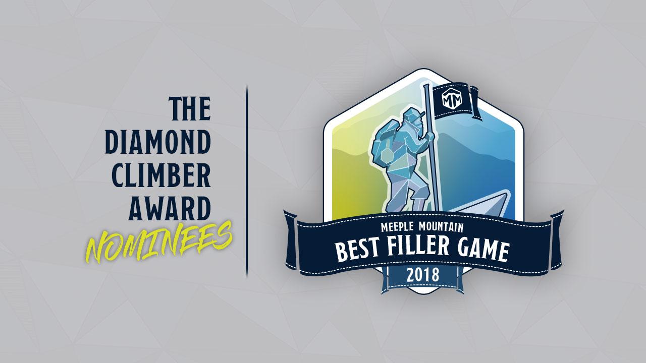 2018 - Best Filler Game Nominees header