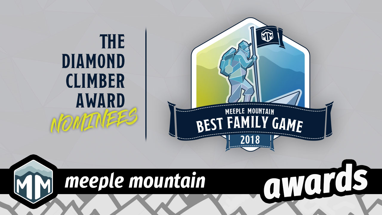 2018 - Best Family Game Nominees image