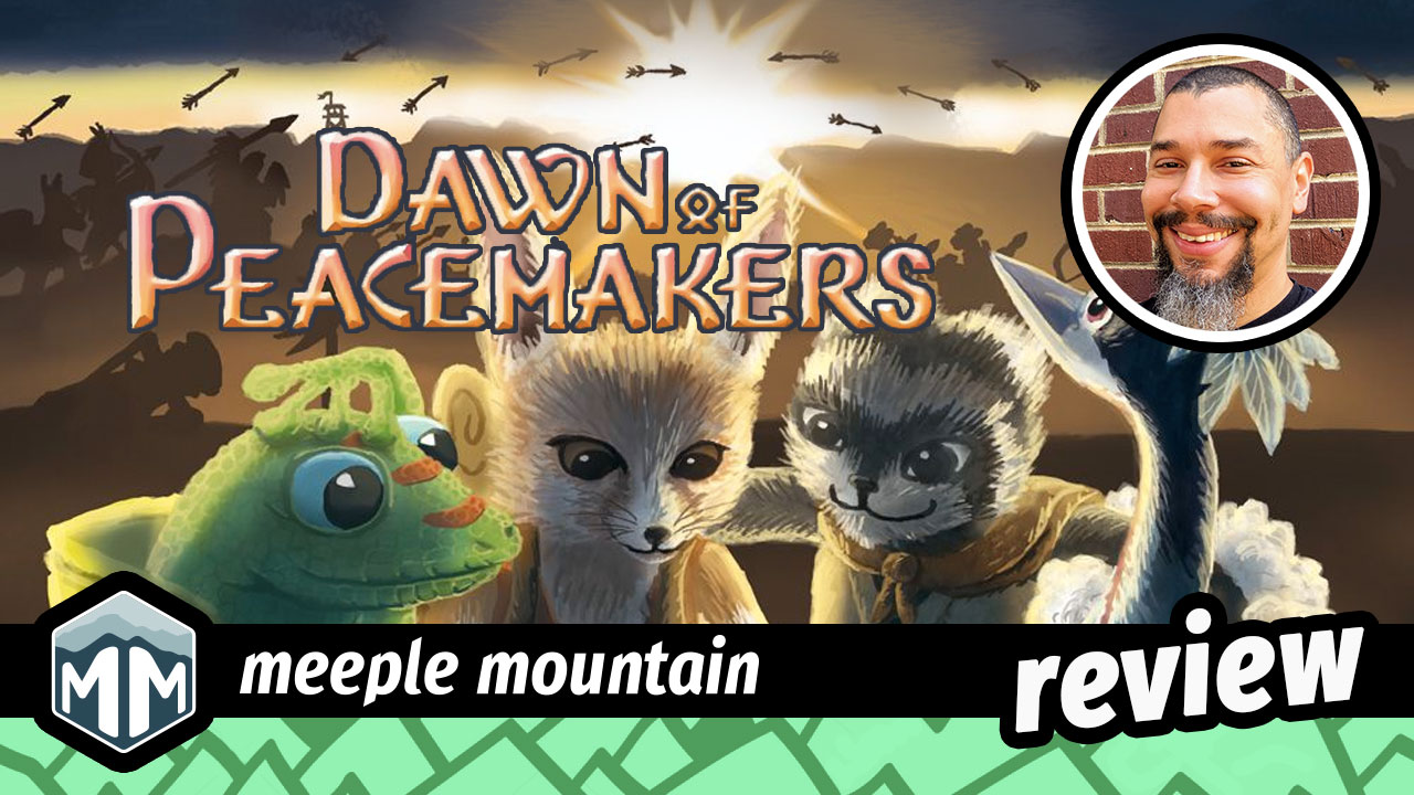 Dawn of Peacemakers Review - Blessed are the Schemers | Meeple Mountain image