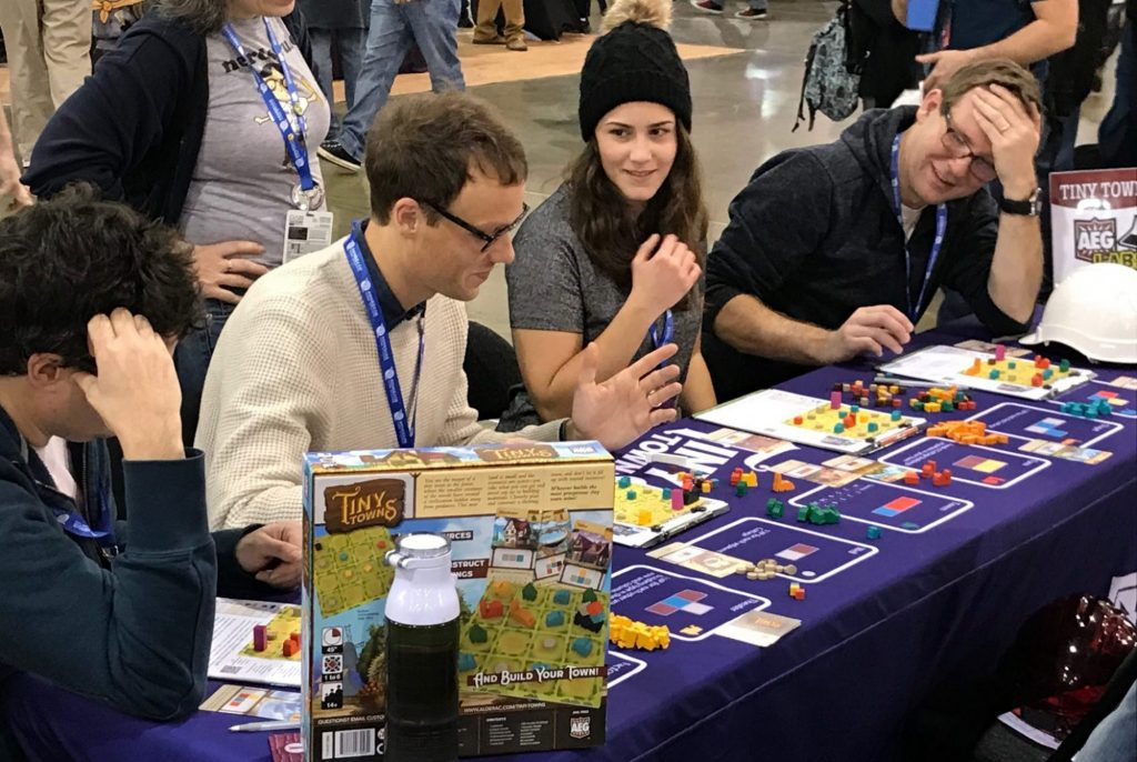 Tiny Towns at Pax Unplugged
