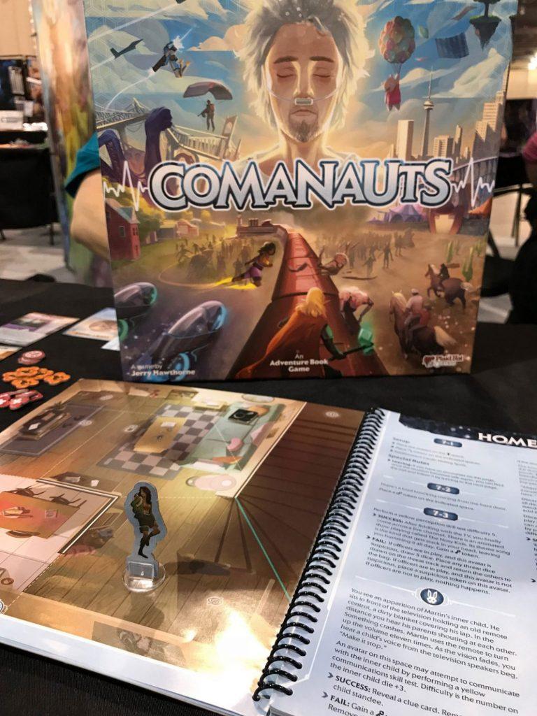 Comanauts box