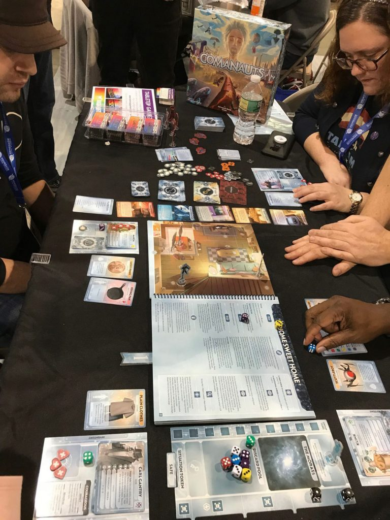 Comanauts players