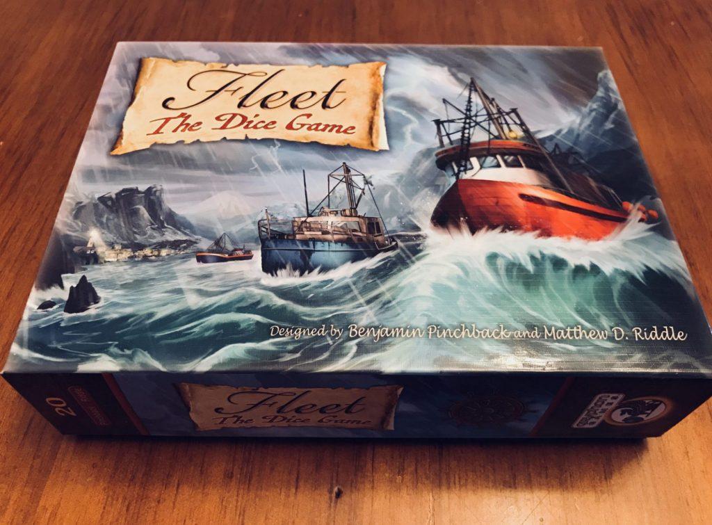 Fleet Dice Game box