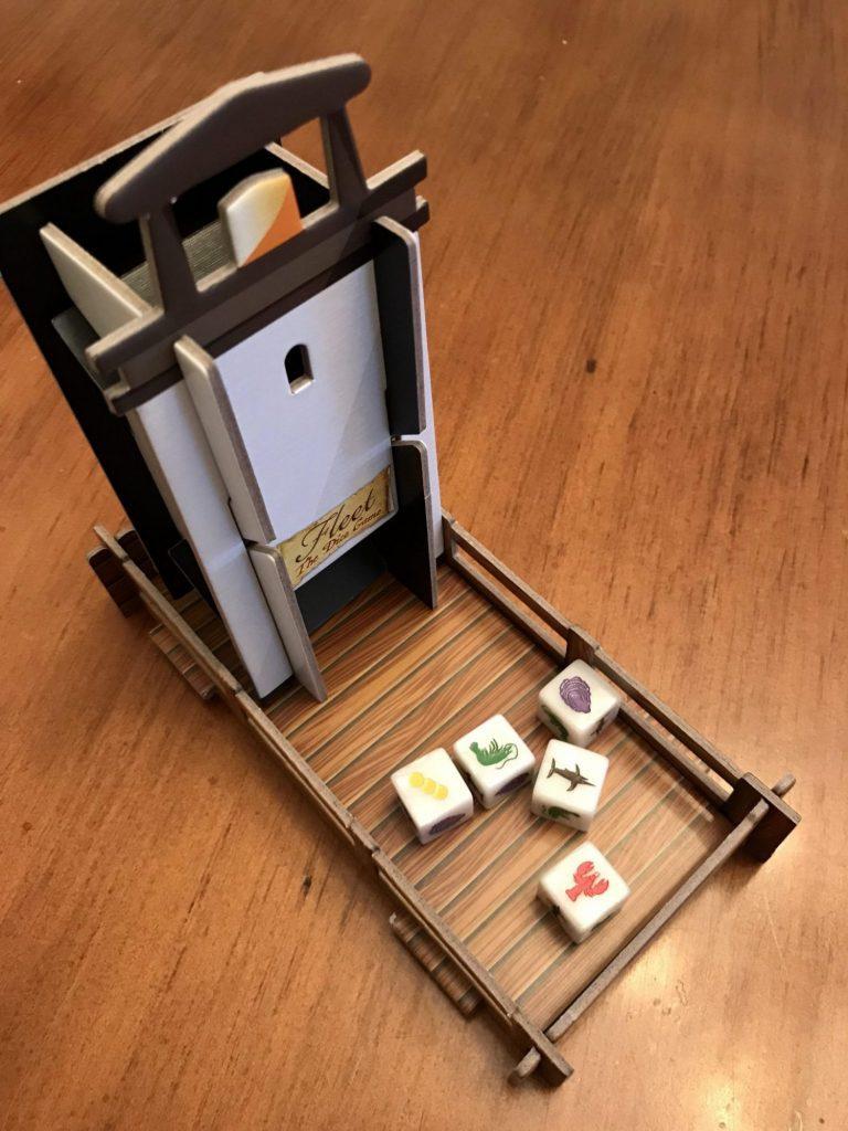 Fleet Dice Game dice tower