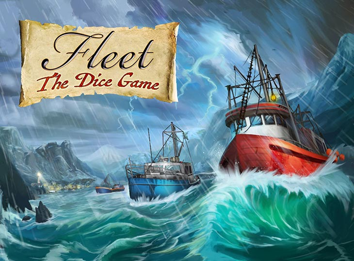Fleet Dice Game cover