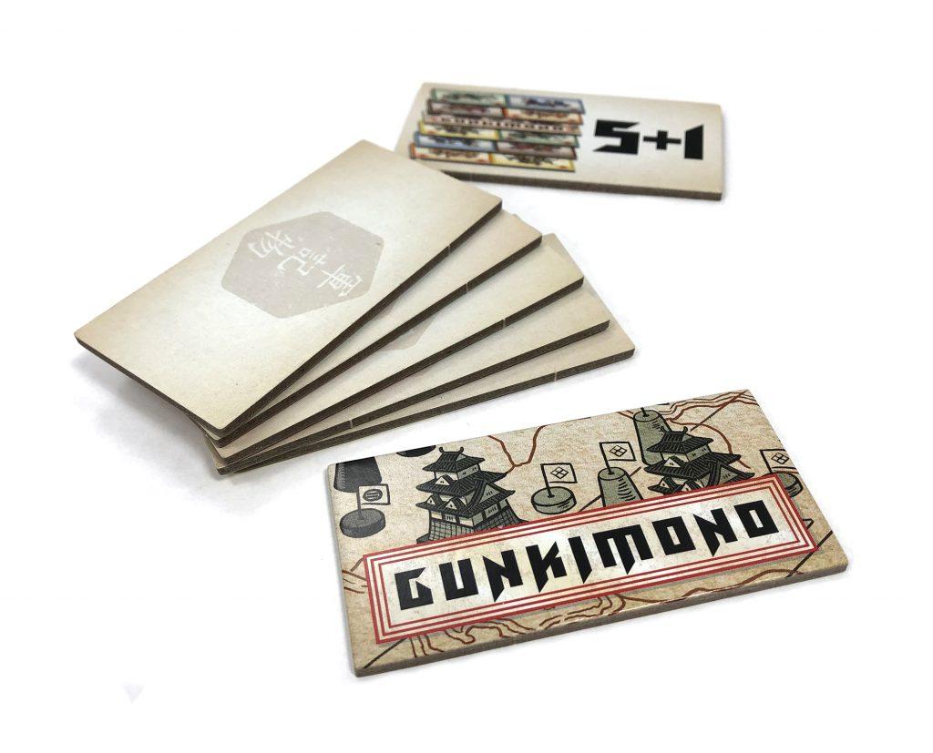 Gunkimono 5 + 1