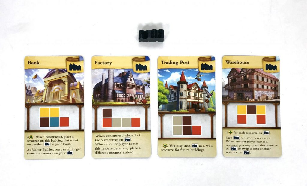 Tiny Towns Factory cards