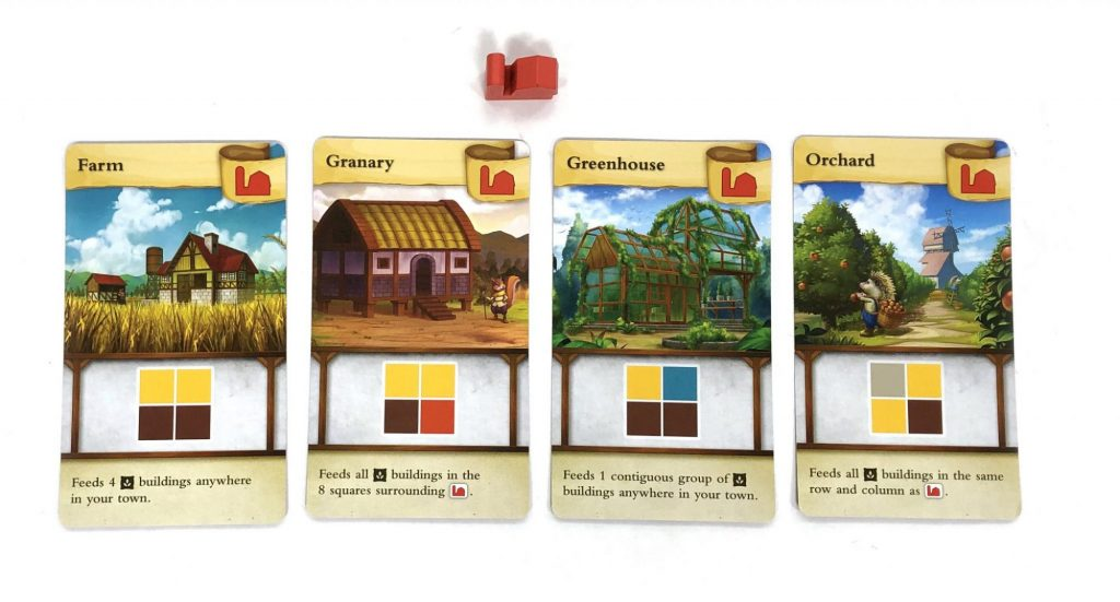 Tiny Towns Farm card