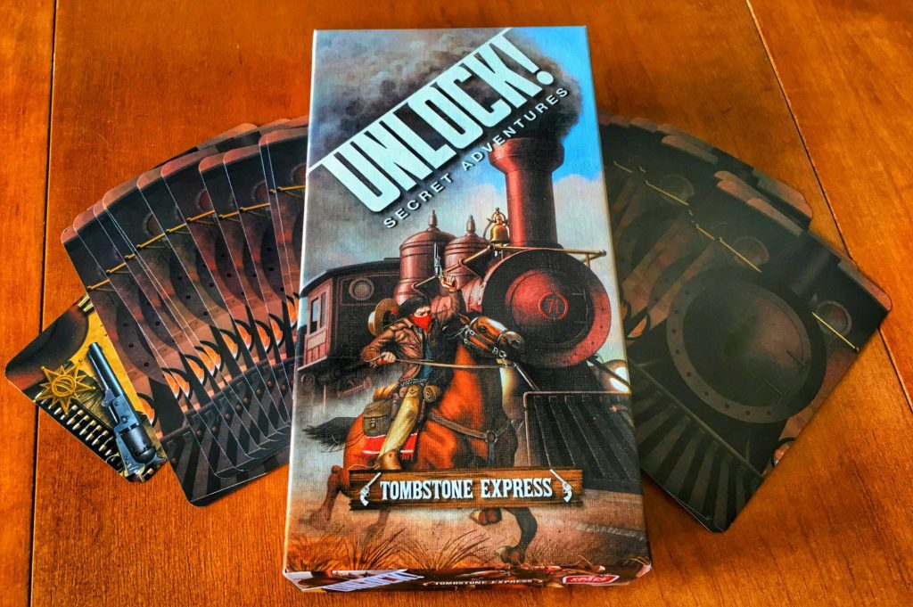 Unlock! Tombstone Express components