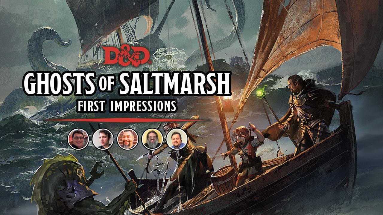 Ghosts of Saltmarsh First Impressions header