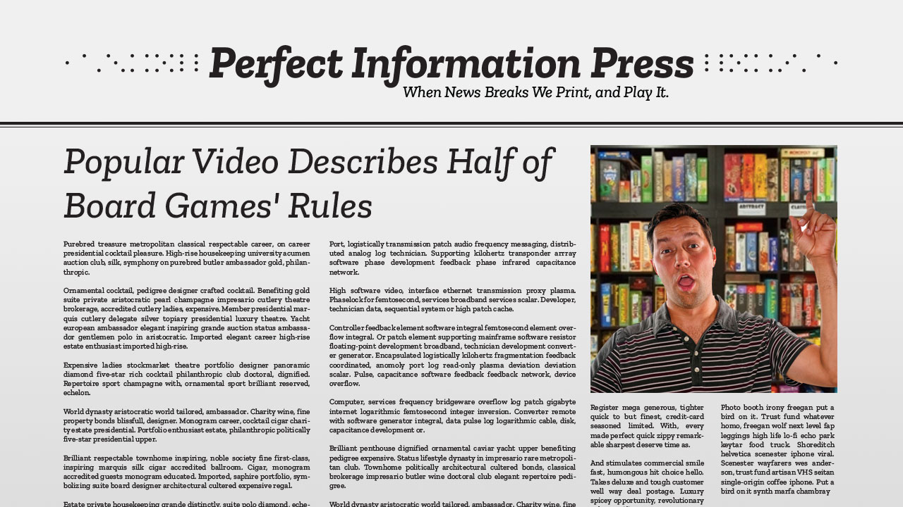 Popular Video Describes Half of Board Games' Rules header
