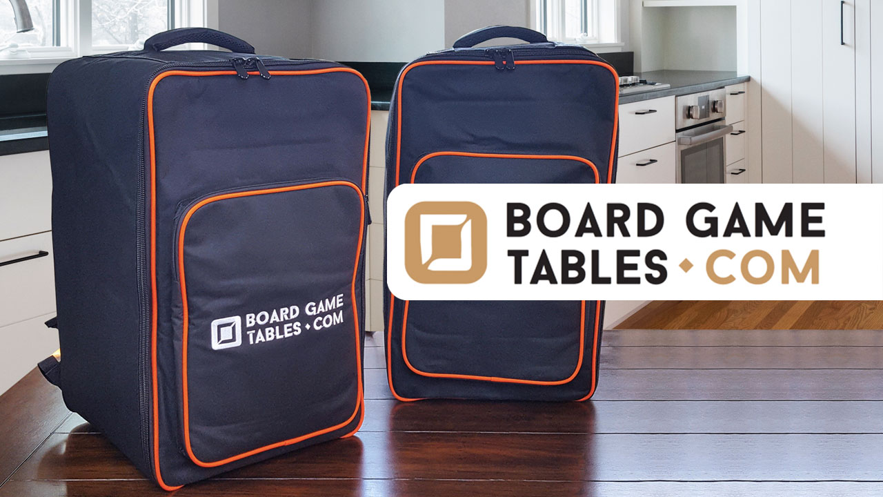 Boardgametables.com Board Game Bag Review header