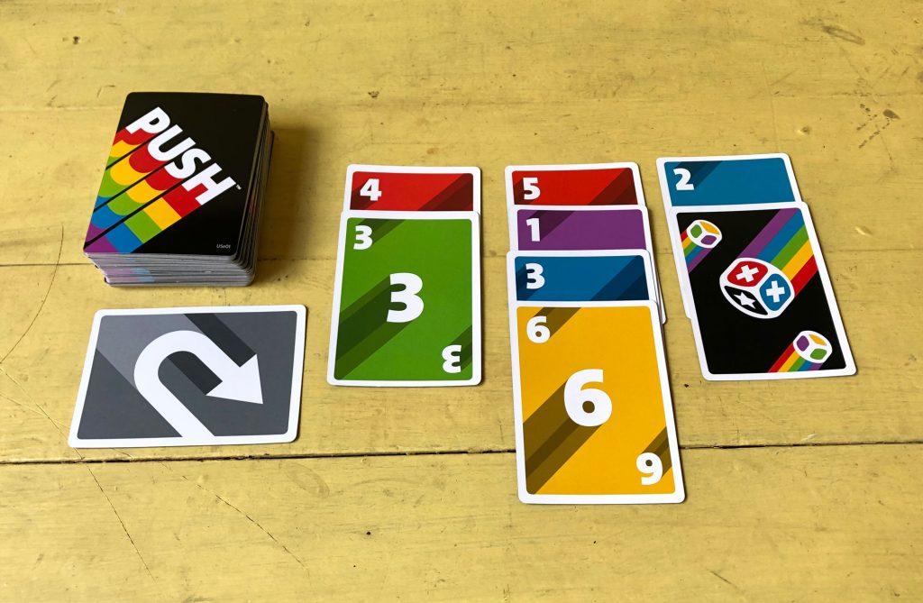 PUSH picking cards