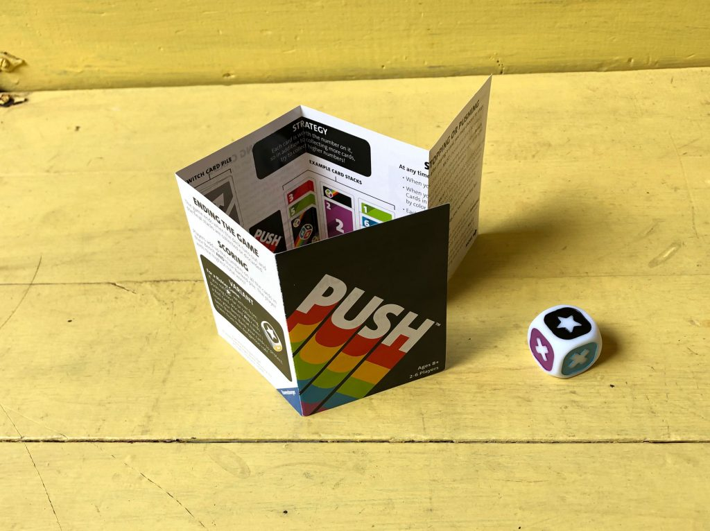 PUSH rulebook