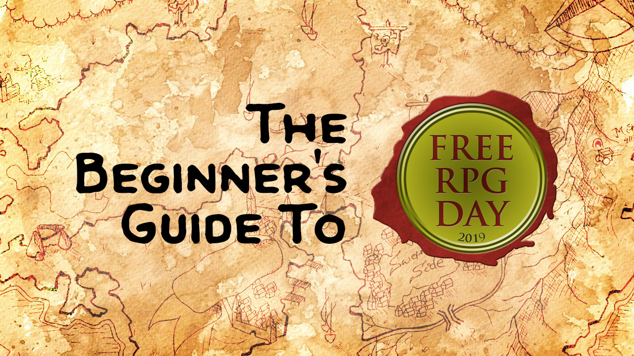 The Beginner's Guide to Free RPG Day header