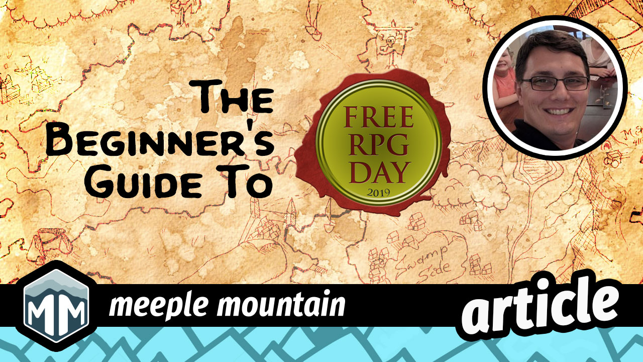 The Beginner's Guide to Free RPG Day | Meeple Mountain