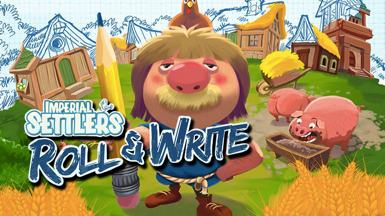 Imperial Settlers: Roll & Write Review header