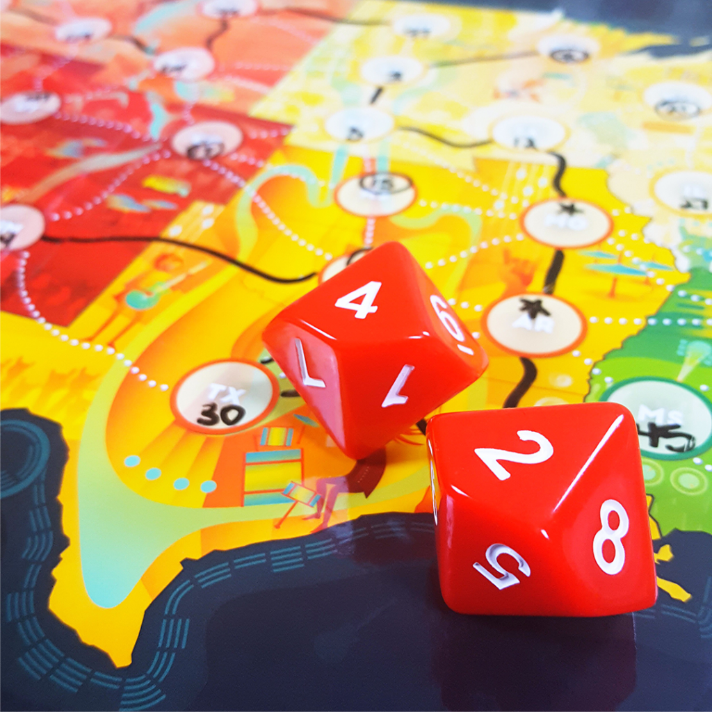 On Tour Review - Logistical Rock and Roll | Meeple Mountain