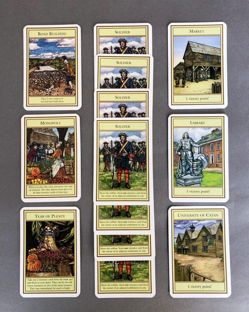 Development Cards in Catan
