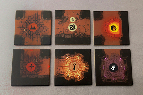 The six major tile types of Sub Terra 2