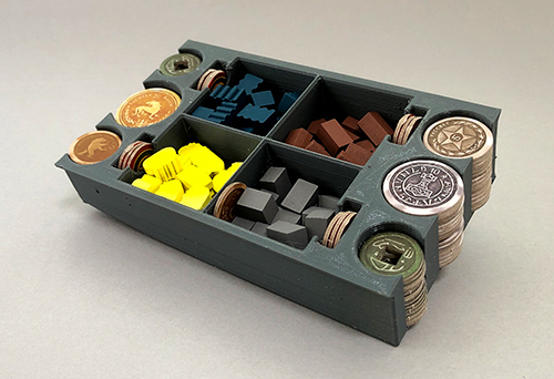 The stored resources and money.