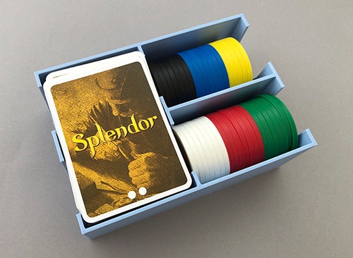 Splendor box with lid removed.