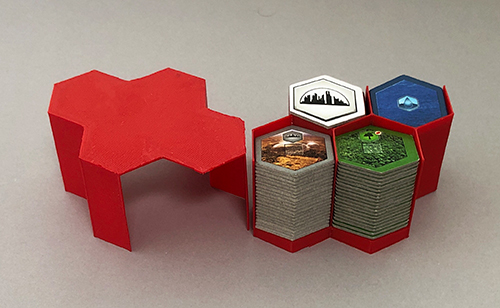 A simple hex tile container that holds all of the game tiles.